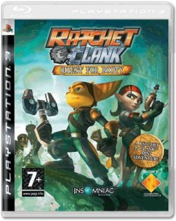 Диск Ratchet & Clank Future: Quest for Booty [PS3]