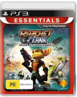 Диск Ratchet & Clank Future: Tools of Destruction (Б/У) [PS3]