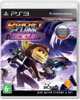 Диск Ratchet & Clank: Nexus (Б/У) [PS3]