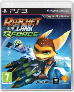 Диск Ratchet & Clank Q-Force [PS3]