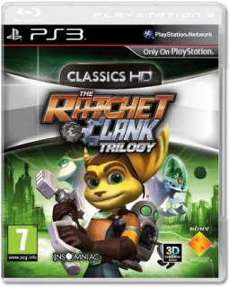 Диск Ratchet & Clank Trilogy – Classics HD (Б/У) [PS3]