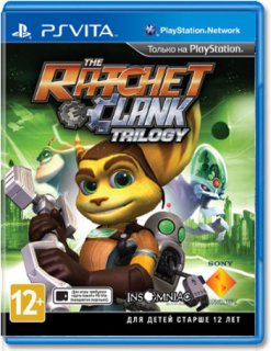 Диск Ratchet & Clank Trilogy (Б/У) [PSVita]