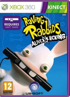 Диск Raving Rabbids Alive & Kicking [X360, Kinect]