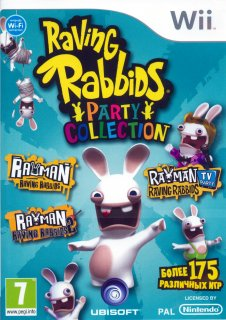 Диск Raving Rabbids Party Collection [Wii]