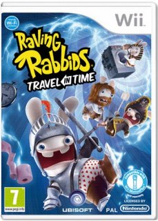 Диск Raving Rabbids: Travel In Time (Б/У) [Wii]