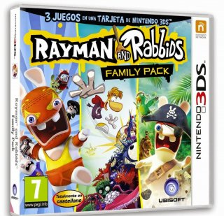 Диск Rayman and Rabbids Family Pack [3DS]