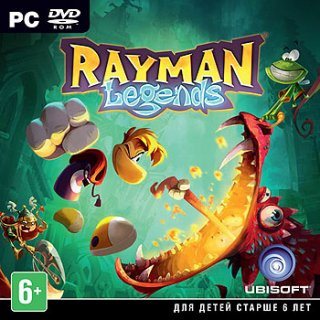 Диск Rayman Legends [PC] (только ключ)