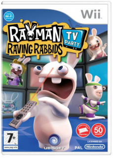 Диск Rayman Raving Rabbids: TV Party (Б/У) [Wii]