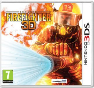 Диск Real Heroes: Firefighter 3D [3DS]