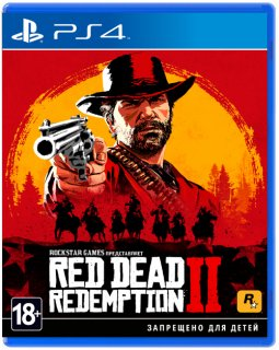 Диск Red Dead Redemption 2 [PS4]