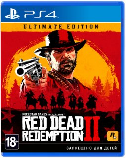Диск Red Dead Redemption 2 - Ultimate Edition [PS4]