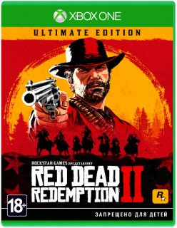 Диск Red Dead Redemption 2 - Ultimate Edition [Xbox One]