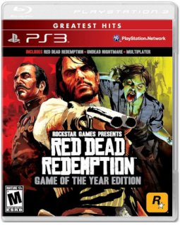 Диск Red Dead Redemption – Game of the Year Edition (Б/У) (US) [PS3]