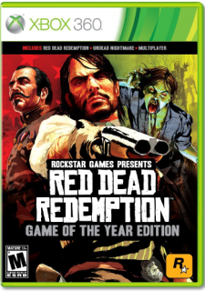 Диск Red Dead Redemption – Game of the Year Edition (US) (Б/У) [X360]
