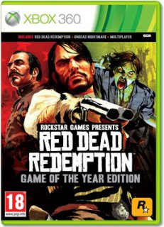Диск Red Dead Redemption – Game of the Year Edition (Б/У) [X360]