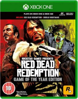Диск Red Dead Redemption – Game of the Year Edition (Б/У) [Xbox One & Xbox 360]