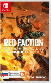 Диск Red Faction Guerrilla Re-Mars-tered [NSwitch]