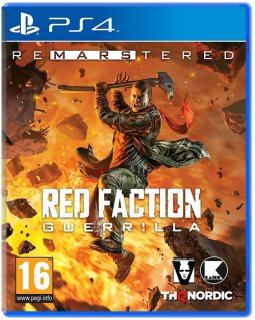 Диск Red Faction Guerrilla Re-Mars-tered [PS4]