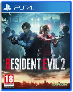 Диск Resident Evil 2 Remake [PS4]