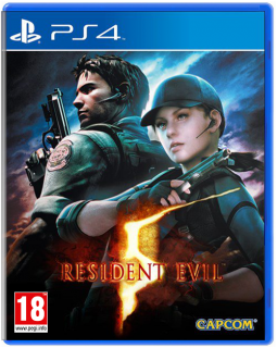 Диск Resident Evil 5 [PS4]
