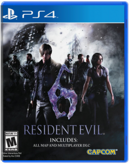 Диск Resident Evil 6 [PS4]