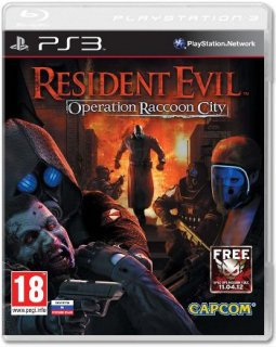 Диск Resident Evil: Operation Raccoon City (Б/У) [PS3]