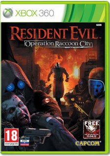 Диск Resident Evil: Operation Raccoon City [X360]