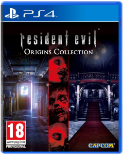 Диск Resident Evil Origins Collection (Б/У) [PS4]