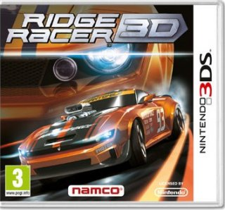 Диск Ridge Racer 3D [3DS]