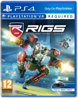 Диск RIGS Mechanized Combat League [PSVR]