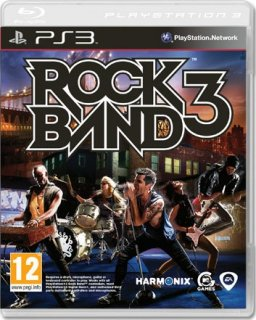 Диск Rock Band 3 [PS3]
