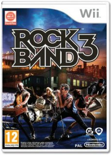 Диск Rock Band 3 [Wii]