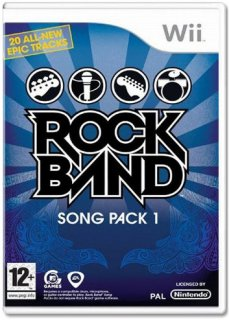 Диск Rock Band: Song Pack 1 [Wii]