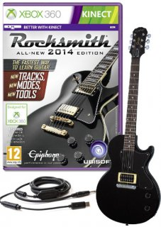Диск Rocksmith 2014 - Guitar Bundle [X360]
