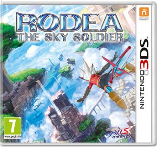 Диск Rodea: The Sky Soldier [3DS]