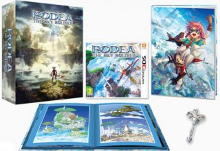 Диск Rodea: The Sky Soldier - Limited Edition [3DS]