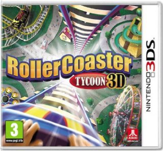 Диск Rollercoaster Tycoon 3D [3DS]