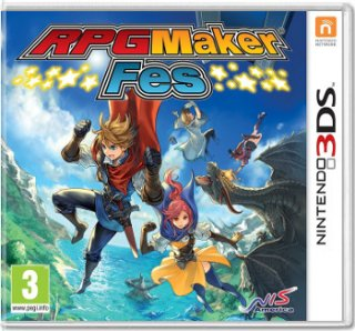 Диск RPG Maker Fes [3DS]