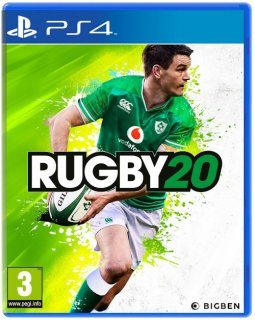 Диск Rugby 20 [PS4]