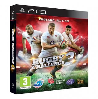 Диск Rugby Challenge 3 [PS3]