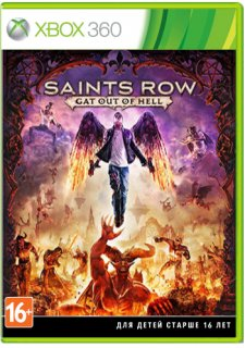 Диск Saints Row IV - Gat out of Hell [X360]