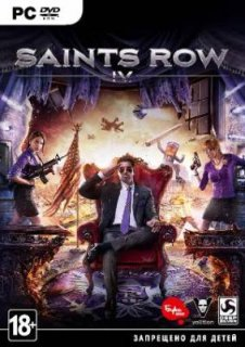Диск Saints Row IV [PC, Jewel]
