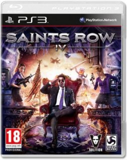 Диск Saints Row IV (Б/У) [PS3]