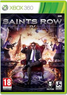 Диск Saints Row IV (Б/У) [X360]