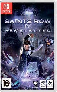 Диск Saints Row: Re-Elected [NSwitch]