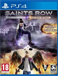 Диск Saints Row : Re-Elected & Gat out of Hell (Б/У) [PS4]