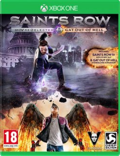 Диск Saints Row : Re-Elected & Gat out of Hell [Xbox One]