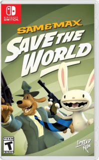 Диск Sam & Max Save the World Remastered [NSwitch]