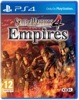 Диск Samurai Warriors 4: Empires [PS4]