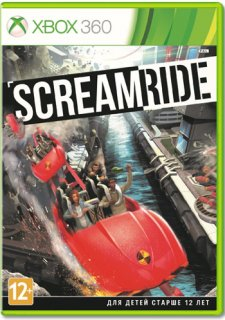 Диск ScreamRide [X360]